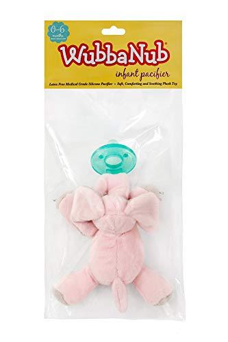 WubbaNub Infant Pacifier - Pink Elephant by WubbaNub (Image #3)