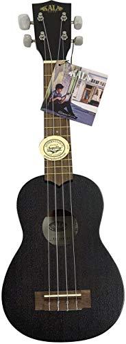 Kala Mahogany KA-15S-ET Soprano Ukulele (Soprano - Black Matte)