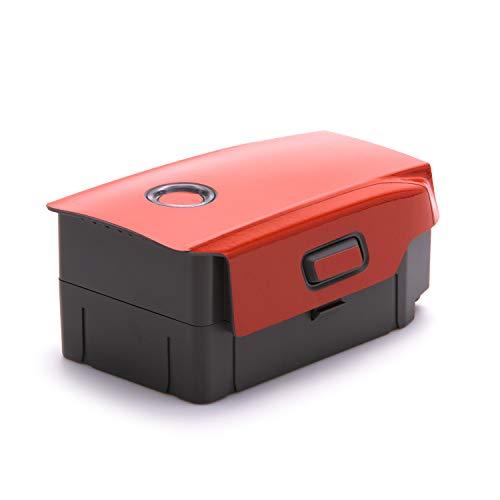 Wrapgrade Poly Skin for DJI Mavic 2 | 2 Batteries (Super RED)