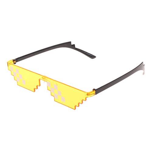 Halloween Dentist Meme (WE-POLUJ Colorful Sunglasses Toy Thug Life Glasses Deal with It Glasses Pixel Women Men Funny)