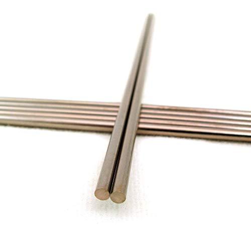"Tungsten Copper Rod - 0.25"" Diameter x 12"" Length, 80% Tungsten 20% Copper, RWMA Class 12 for Resistance Welding"