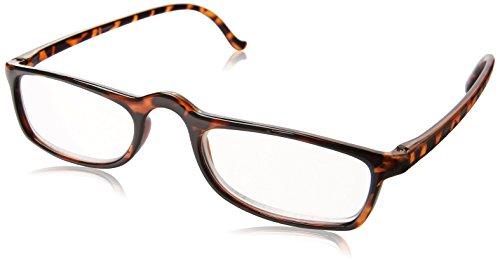 Dr. Dean Edell Calexico Reading Glasses, Tortoise (+3.00)
