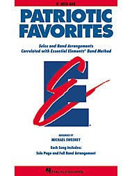 Hal Leonard Patriotic Favorites Eb Alto Saxophone (Music Instrument Sheet Eb)
