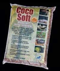 CaribSea Aquatics SCS24211 Coco Soft Bedding, Coarse Chip, 24-Quart