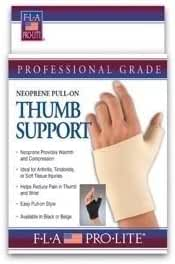 Florida Orthopedics Pull-On Thumb Support, Fits Right or Left.