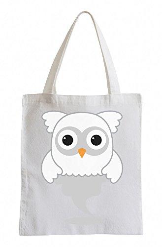 Fantasmi Raxxpurl Owl Fun sacchetto di iuta