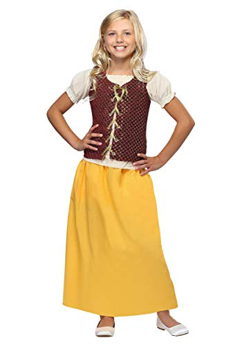 Little Girls' Red Peasant Dress Costume X-Large]()