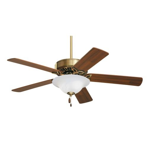 Emerson Ceiling Fans CF712AB Pro Series Indoor Ceiling Fan With Light, 50-Inch Blades, Antique Brass Finish (Oak Antique Ceiling Fan)