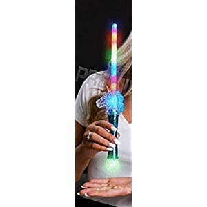 Light Up Flashing Unicorn Rainbow Wand – Tons of Fun for That Party!