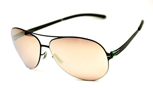 ic berlin Raf.S sunglasses Black/Photochromic copper mirrored - Sunglasses Raf