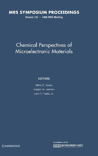 Chemical Perspectives of Microelectronic Materials: Volume 131 (MRS Proceedings)