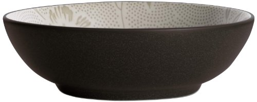 Noritake Colorwave Bloom Round Vegetable Bowl, 64-Ounce, Chocolate