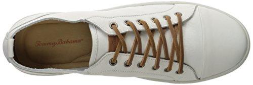 Tommy Bahama Mens Ultan Captoe Fashion Sneaker Bianco