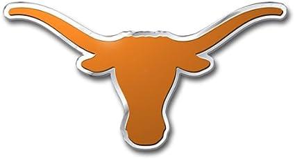 Amazon Com Patch Collection University Of Texas Longhorns Team Logo Colored Aluminum Car Auto Emblem Automotive Decorative Emblems Sports Outdoors