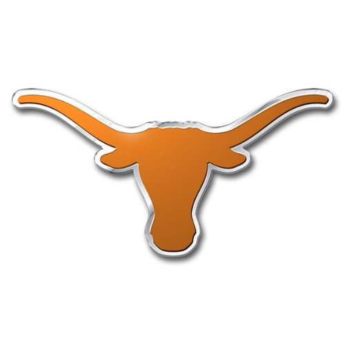 NCAA Texas Longhorns Die Cut Color Auto Emblem