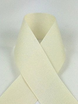 Schiff Ribbons N8144-9 1-1/2-Inch Polyester Solitaire Ribbons, 100-Yard, Natural