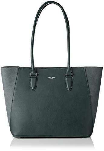 David Jones Women's Cm3974 Shoulder Bag Gris (D.grey)