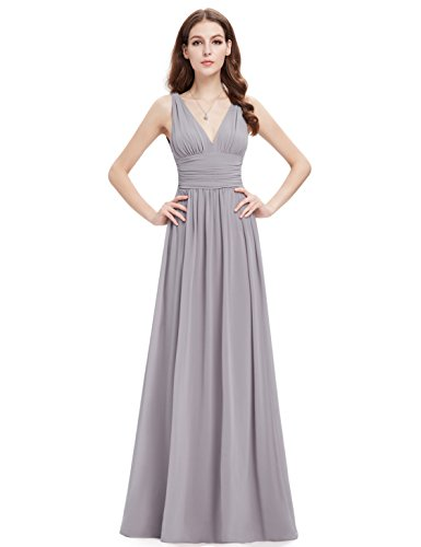 Ever-Pretty HE09016 - Vestido para mujer Grey2
