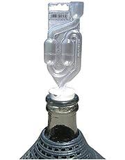 Aburrido tapón de goma 48/44mm + airlock–Bubbler, tapón con agujero, tapones, damajuana, corcho, tapón, Carboy