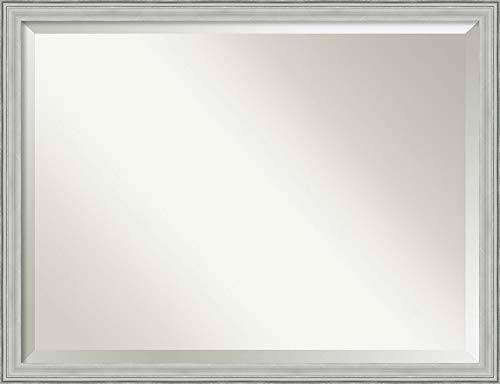 Amanti Art Framed Mirrors for Wall | Bel Volto Silver Mirror for -