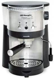 Orbegozo - Cafetera Espresso Ex2010, 2 Tazas, 1.25L, 15 Bar, Negra