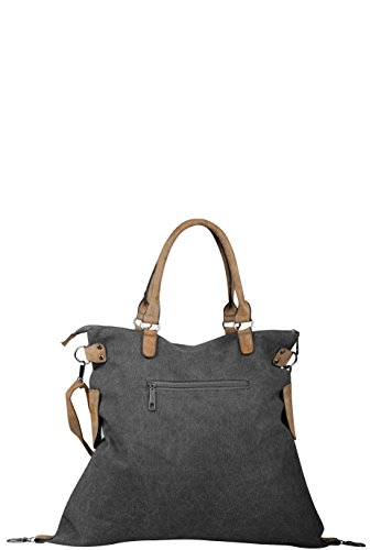 Capelli New York Tasche BG-45877-GE Dark Grey inqqC6sknU