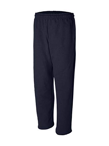 Gildan Open Bottom Pocketed Sweatpants (12300) Available in 6 Colors Medium -