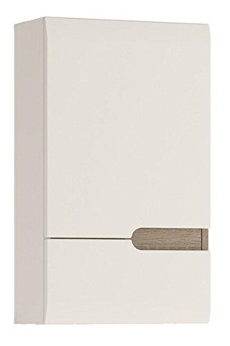 P&N Homewares® Solna Badezimmer-Wandschrank in Weiß Hochglanz ...