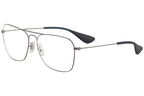 Ray-Ban RX3610V - 2502 Eyeglasses GUNMETAL 58mm (Ray-ban 2502)