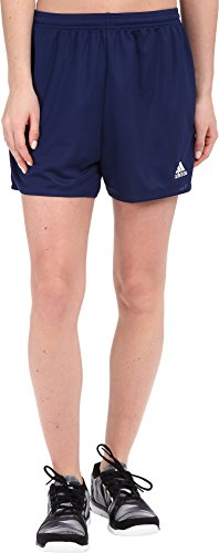 adidas Women's Parma 16 Soccer Shorts, Dark Blue/White, (Adidas Blue Basketball Shorts)