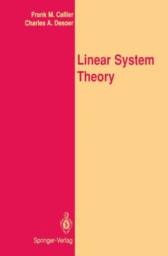 Linear System Theory (Springer Texts in Electrical Engineering)
