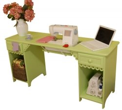 Arrow Cabinet 1004 Olivia Sewing Cabinet, Green by Arrow Cabinet