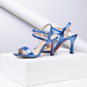 con Cordones hexiajia Zapatos Azul Planos mujer qPCHCxwE