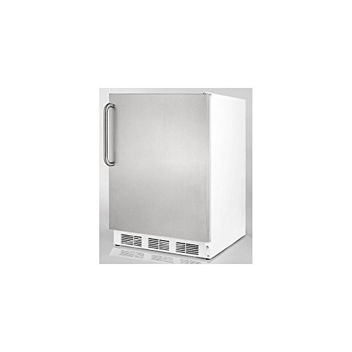 Summit FF7LSSTB Refrigerator, Stainless Steel