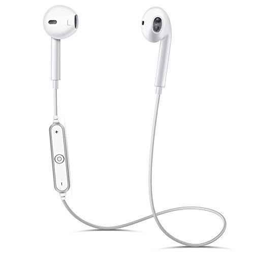 Sasrl Bluetooth Headphones, Wireless Headphones Bluetooth 4.1 Earbuds with Mic Sport Stereo Headset, Sweatproof Earphones