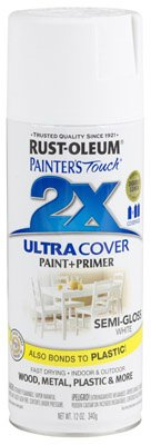 Rust-Oleum Painter's Touch Multi-Purpose Spray Paint, Semi-Gloss, 12-Ounce