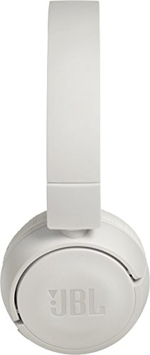 JBL T450BT Extra Bass Wireless On Ear Headphones with Mic White
