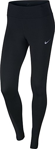 NIKE Women's Power Running Tights Black Size Small