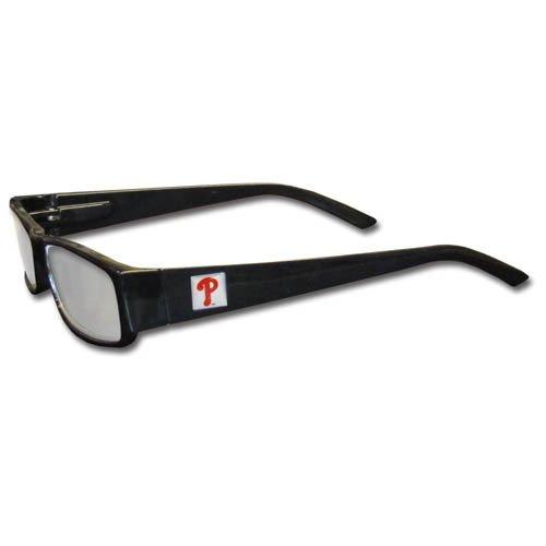 - MLB Black Reading Glasses, +1.50, Philadelphia Phillies