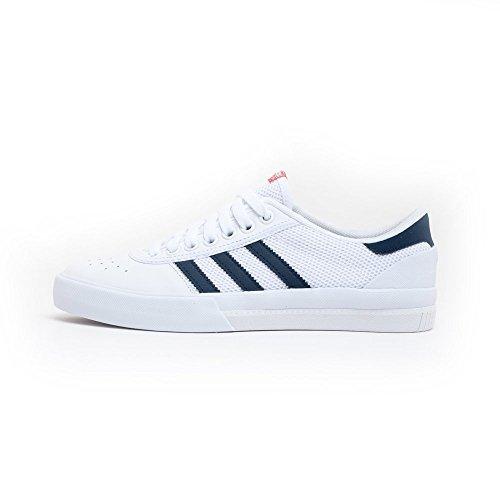adidas Skateboarding - Zapatillas de Skateboarding Para Hombre White Navy Scarlet