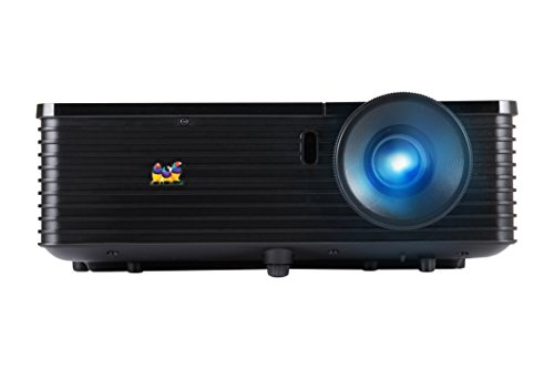 ViewSonic PJD6543W WXGA DLP Projector with 1280x800 Resolution, Native 720p, 3000 ANSI Lumens, 15000:1 Contrast Ratio, LAN Control and HDMI (Black)