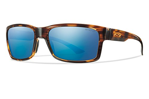 Smith Dolen Sunglasses - Polarized ChromaPop Havana/Blue Mirror, One - Sunglasses Fishing Smith