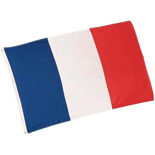 Gran bandera de Francia, 150 x 90 cm: Amazon.es: Jardín