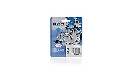 Original Epson C13T27024010 / 27 tinta (cian, volumen 3,6 ml) para ...