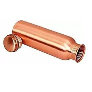 Apurva Interiors Copper Water Bottle, Copper Bottles for Water 1 Liter,100% Pure Copper Water Bottles 1 Litre Best, Leak…