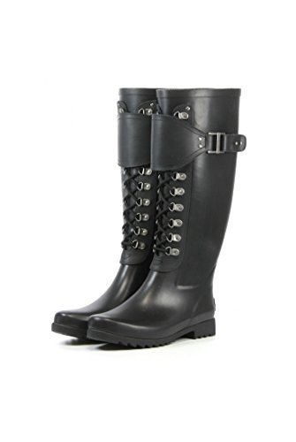 Madelynn Black Black/Charcoal Ugg Womens Madelynn Boots Black - 4.5 UK 4.5 US 6 EUR 37 IMiOqj
