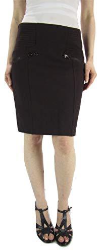 - Hotel Particulier Women's Short Skirt Milano, Pencil Skirt, Bourgogne, 40 (US 10-12)