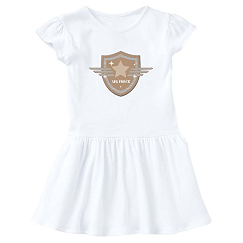 - inktastic - Air Force Crest Infant Dress 12 Months White e87c