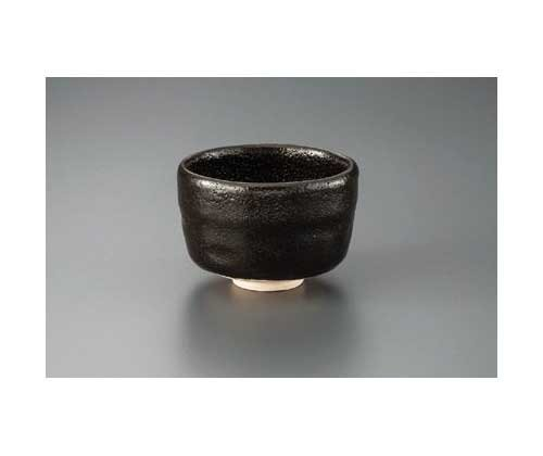 Made by Shoraku Black Raku 11.5cm Match Bowl Pottery Ware