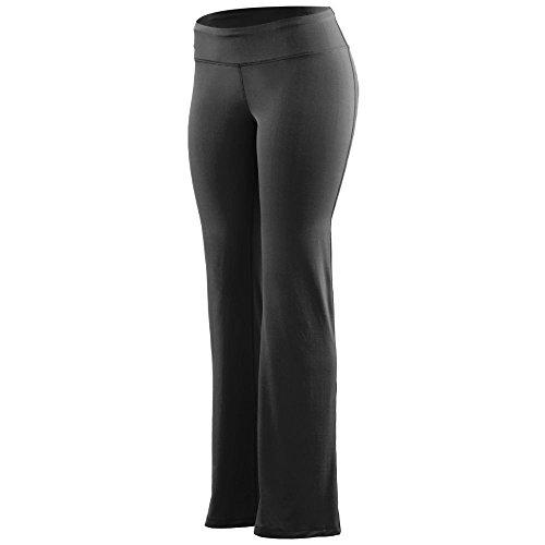 Augusta Poly Spandex (Augusta Sportswear Women's Wd Waist Poly/spandex Pant M Black)